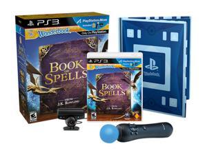 Wonderbook: Book of Spells Move Bundle Playstation3 Game                                                                 ...