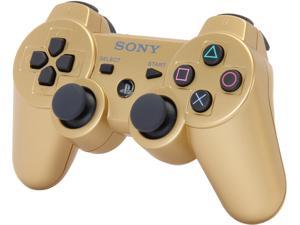 SONY PS3 Dualshock 3 Wireless Controller: Metallic Gold
