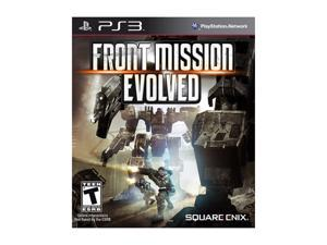 Front Mission Evolved Playstation3 Game SQUARE ENIX