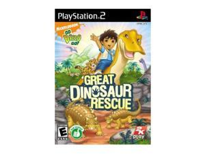 Go Diego Go: Great Dinosaur Rescue PlayStation 2 (PS2) Game Take2 Interactive
