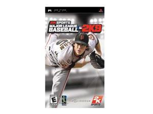 Major League Baseball 2k9 PSP Game 2K Games