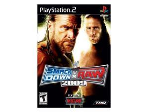 WWE SmackDown vs. RAW 2009 PlayStation 2 (PS2) Game THQ