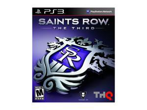 Saints Row The Third Playstation3 Game THQ