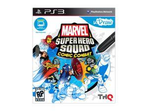 Marvel Super Hero Squad: Comic Combat (uDraw) Playstation3 Game THQ