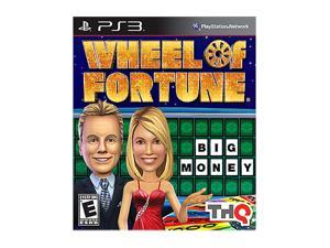 Wheel of Fortune Playstation3 Game THQ