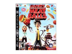 Cloudy With A Chance of Meatballs Playstation3 Game UBISOFT