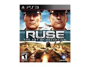 R.U.S.E. Playstation3 Game Ubisoft