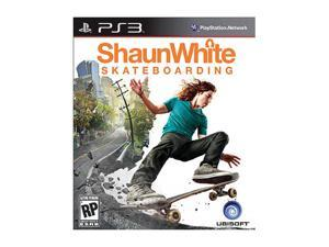 Shaun White Skateboarding Playstation3 Game Ubisoft