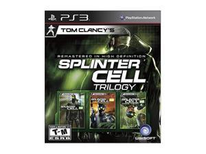 Splinter Cell Trilogy HD Playstation3 Game Ubisoft
