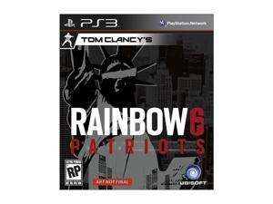 Tom Clancy's Rainbow 6: Patriots Playstation3 Game Ubisoft