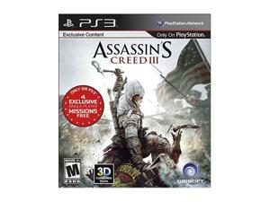 Assassin's Creed 3 for Sony PS3
