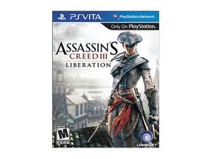 Assassins Creed III: Liberation PS Vita Games UBISOFT