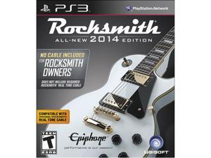 "Rocksmith 2014 Edition - ""No Cable Included"" Version for Rocksmith Owners PS3 Game"