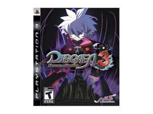 Disgaea 3: Absence of Justice Playstation3 Game NIS America