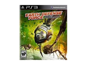 Earth Defense Force: Insect Armageddon Playstation3 Game D3 PUBLISHER