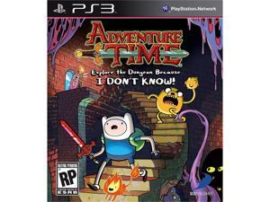 Adventure Time: Explore the Dungeon Because I DON'T KNOW! PS3 Game D3 PUBLISHER