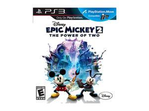 Disney Epic Mickey 2: The Power of Two for Sony PS3 #zCL