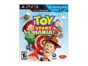 Toy Story Mania Move Playstation3 Game                                                                                   ...