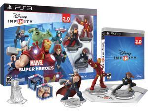 INFINITY 2.0 Starter Pack-Marvel Super Heroes PS3