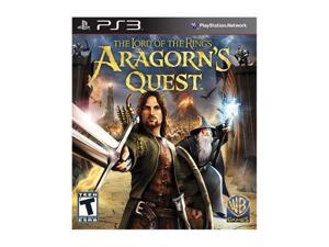 Lord of the Rings: Aragorn's Quest Playstation3 Game Warner Bros. Studios