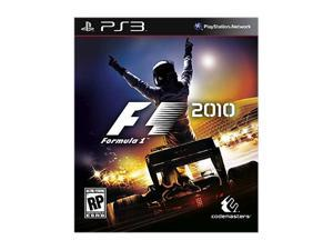 F1 2010 Playstation3 Game Warner Bros. Studios
