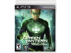 Green Lantern: Rise Of Manhunters Playstation3 Game Warner Bros. Studios