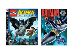 Lego Batman PS3 w/Batman Animated Series: Tales of the Dark Knight DVD Warner Bros. Studios