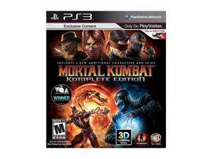 Mortal Kombat Komplete Edition Playstation3 Game Warner Bros. Studios