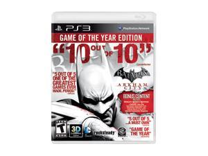Batman Arkham City Game of the Year Edition Playstation3 Game Warner Bros. Studios