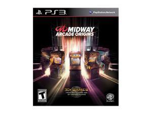 Midway Arcade Origins Playstation3 Game                                                                                  ...