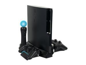 CTA PlayStation Move & DualShock Controller Charging Station with Stand