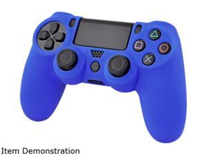 INSTEN Blue Silicone Skin Case For Sony PS4 Playstation 4 Remote Controller
