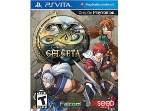 Ys: Memories of Celceta PS Vita Games