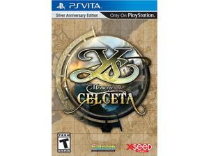 YS: Memories of Celceta - silver anniversary edition PlayStation Vita XSEED Games
