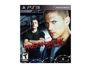 prison break playstation3 game deep silver