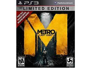 Metro: Last Light Limited Edition Playstation3 Game Deep Silver