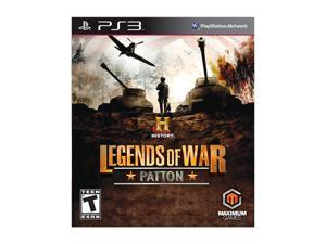 History Legends of War: Patton Playstation3 Game