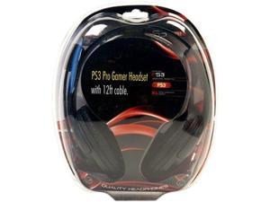 Arsenal PS3 wired dual headset - Black