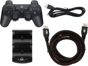 Arsenal PS3 Kit: Bluetooth Controller, HDMI Cable, and Dual charger With USB Cable