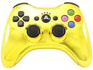 Arsenal PS3 Bluetooth Controller Chrome Gold