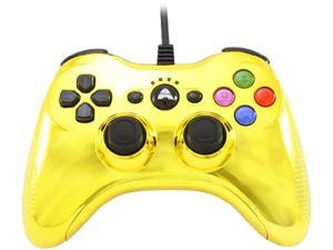 Arsenal PS3 Wired Controller Chrome Gold