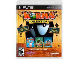 Worms Collection Playstation3 Game Maximum Games