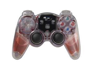 dreamGEAR Lava Glow Wireless Controller Red for PS2