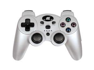 dreamGEAR Radium Wireless Controller for PS3 Silver