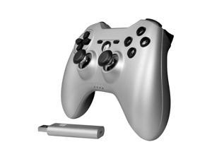 DREAMGEAR DGPS3-3848 PlayStation(R)3 Phenom Wireless Controller (Matte Silver)