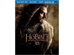 The Hobbit: The Desolation of Smaug (3D Blu-Ray) Martin Freeman, Ian McKellen, Lee Pace, Ian Holm, Luke Evans
