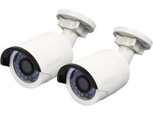 TRENDnet TV-IP320PI2K Outdoor 1.3 MP HD PoE IR Network Camera (Twin Pack)