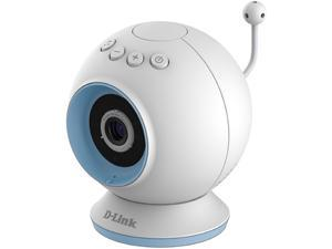 D-Link DCS-825L HD Resolution, Night Vision, Motion & Sound Detection, Temperature Sensor, 2 Way Audio Wi-Fi Baby Camera