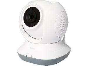 D-Link DCS-855L HD 720P Day/Night 2-Way Audio Temperature Sensor Pan/Tilt Wi-Fi Baby Camera