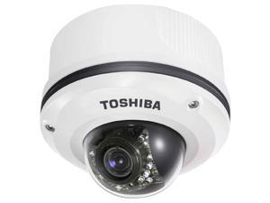 TOSHIBA IK-WR12A 1600x1200 MAX Resolution RJ45 IP Network Megapixel Dome with Extreme Low Light Capabilities